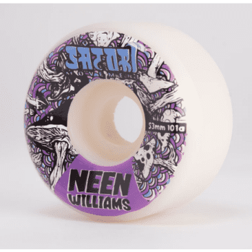 Satori Wheels - Satori Neen Williams Mushroom 101a Wheels 53mm