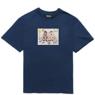 Chrystie NYC NY Kids T-Shirt - Navy