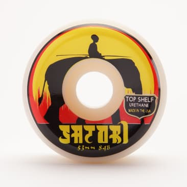 53mm Elephant Top Shelf Urethane Wheels (Conical Shape) 101a