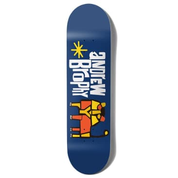 """Girl Skateboards - Andrew Brophy Pictograph Deck 8.6"""" Wide."""