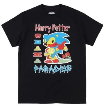 Paradise.NYC Harry Potter Obama Paradise T-Shirt - Black