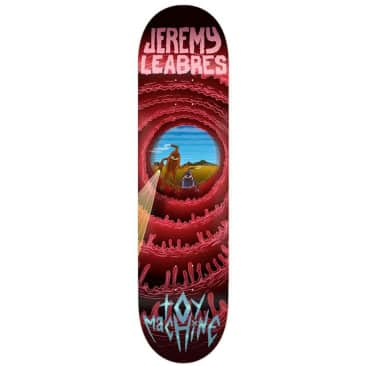 """Toy Machine Leabres Cave Sect Skateboard Deck 8.5"""""""
