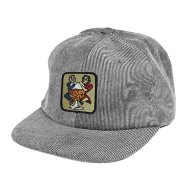 Pass~Port With A Friend 5 Panel Cap - Steel Grey