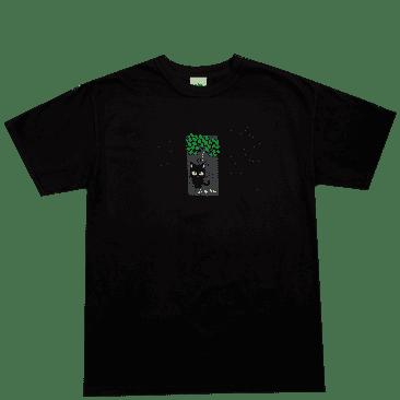 Frog Jesse Alba Spider Monkey Muffin T-Shirt - Black
