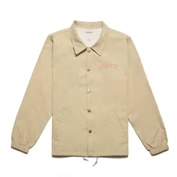 Chrystie NYC - Collegiate Logo Coach Jacket_Ivory