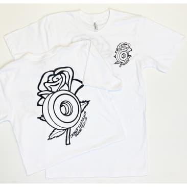 IMPACT Rose Wheel Tee White