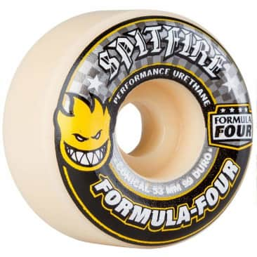 Spitfire Formula Four Conical 99Duro 54mm Wheels