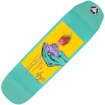 "Welcome Nora Vasconcellos Soil On Wicked Queen Teal Dip Deck (8.6"")"