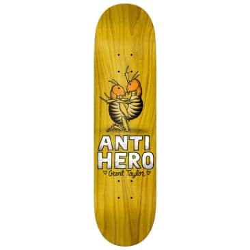 """Anti Hero Skateboards - 8.12"""" Grant Taylor Lovers II Skateboard Deck - Various Wood Stains"""