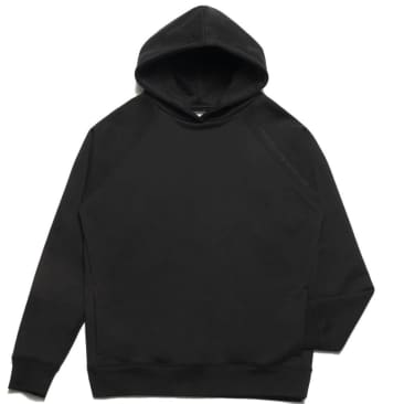 Chrystie NYC Clean Cut Side Pockets Hoodie - Black