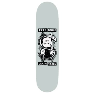 """Free Dome Death and Taxes Deck - 8.8"""""""