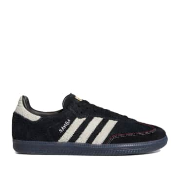 adidas Skateboarding Maite Samba ADV Shoes - Core Black / Cloud White / Core Black