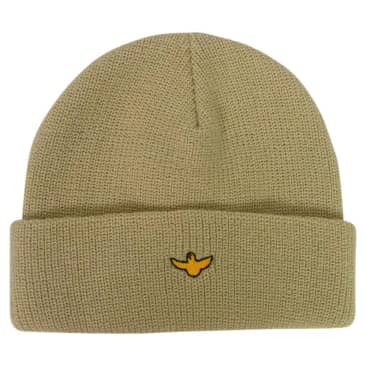 Krooked OG Bird Cuff Beanie Cream