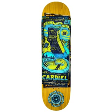 Antihero Cardiel Maps To The Skaters Homes Deck 8.62