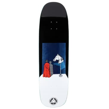 """Welcome Deck - Haunted Horse on Golem - Black/White 9.25"""""""