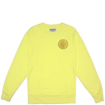 Fucking Awesome Spiral French Terry Sweatshirt Yellow