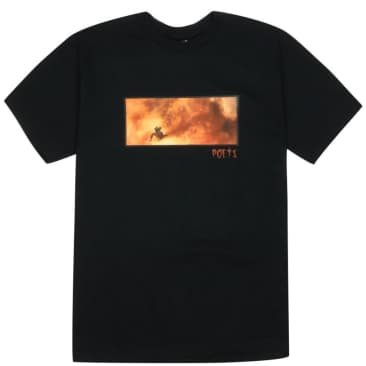 Poets Ace T-Shirt - Black