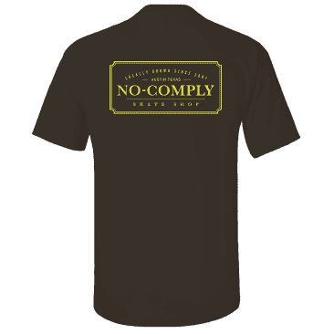 No-Comply Locally Grown Shirt - Brown Maize