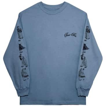 Pass~Port Dancers Long Sleeve Shirt - Stonewash Blue