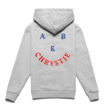 Chrystie NYC A&B Chrystie Smile Logo Hoodie - Ash Grey