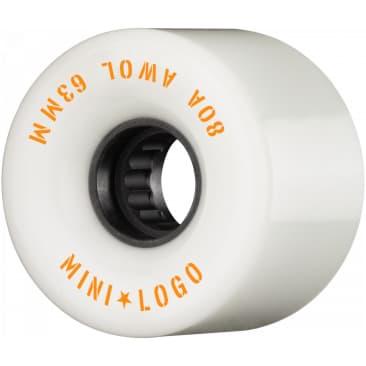 Mini Logo AWOL 63mm 80A Wheels (White)