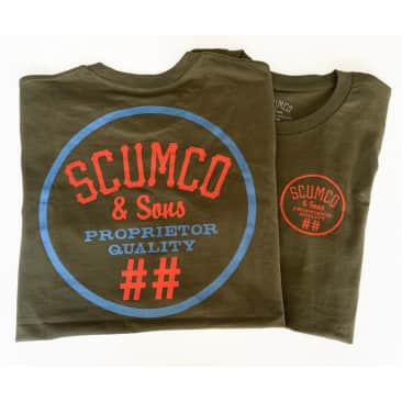 Scumco & Sons Army Logo Tee