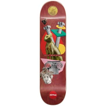 "Almost Skateboards - 8.375"" Relics Max Geronzi Pro Deck (Maroon)"