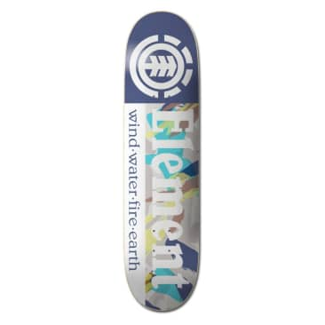 Element Skateboards Nigel Cabourn Section Skateboard Deck - 8.00
