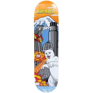 Ripndip Nermzilla Skateboard Deck | Orange | 8.00""