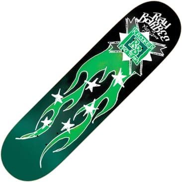 "Krooked Barbee Flames deck (8.38"")"