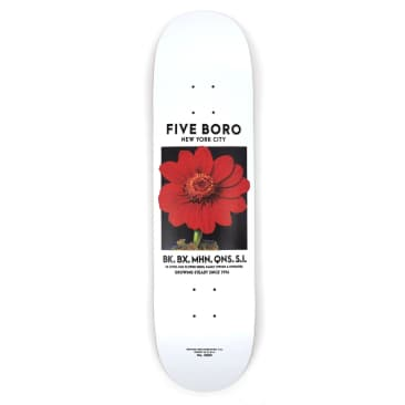 5 Boro Flower Seed Red Deck
