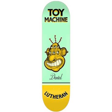Toy Machine Lutheran Pen N Ink Deck (7.75)
