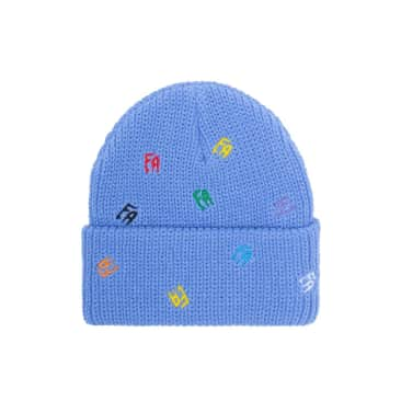 Fucking Awesome Scattered FA Cuff Beanie - Violet