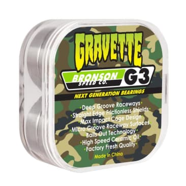 Bronson Speed Co Gravette Pro G3 Bearings
