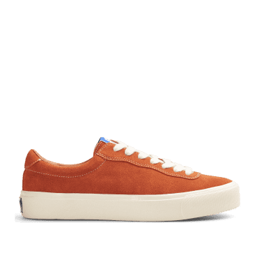 Last Resort AB VM001 Suede Lo Skate Shoes - Burnt Orange / White