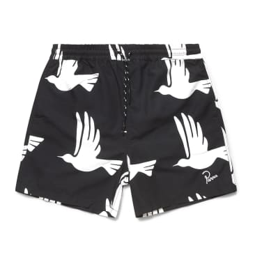 by Parra Static Flight Swimshorts - Black