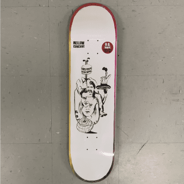 Baker Skateboards Rowan Zorilla Daydreams Deck 8.125