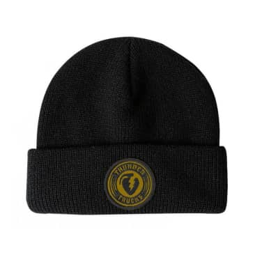 Thunder Cuff Charged Grenade Beanie - Black