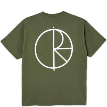 Polar Skate Co. Stroke Logo T-Shirt - Uniform Green