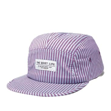 The Quiet Life 5 Panel Camper Hat - Blue / Purple