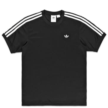 adidas Skateboarding Aero Club Jersey T-Shirt - Black / White
