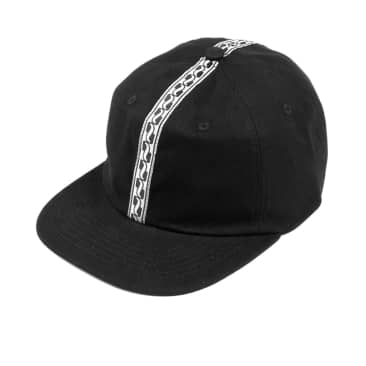 Pass~Port Auto Ribbon 6 Panel Cap - Black