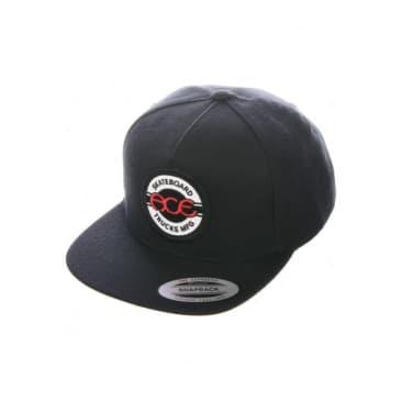 Ace - Seal 5 Panel Snapback Hat (Black)