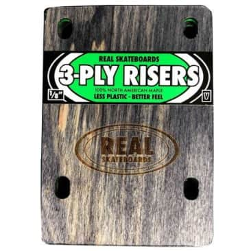 Real 3-Ply Wooden Venture Riser Pads (sold as a set)
