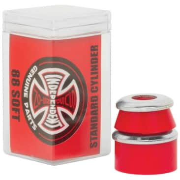 Independent Bushings Standard Cylinder Soft 88a (Red)