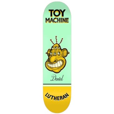 Toy Machine Daniel Lutheran Pen & Ink 7.75""