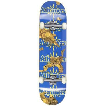 """Alltimers 'Coins Vacation' Complete Skateboard 8.1"""""""