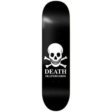 Death OG Skull Deck Black - 8.5""