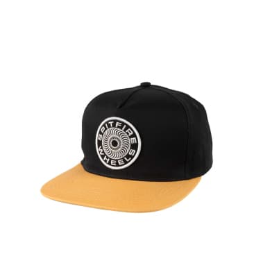 Spitfire 87 Swirl Snapback, dark navy/yellow