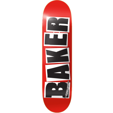 Baker Brand Logo Deck (Red/Black)- 7.88